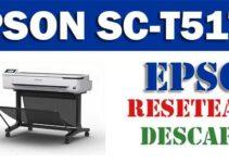 Resetear impresora Epson SureColor T5170
