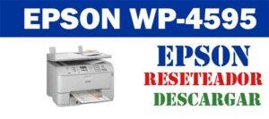 Resetear impresora Epson WorkForce Pro WP-4595 DNF