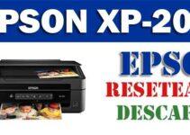 Resetear impresora Epson XP-208