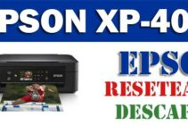 Resetear impresora Epson XP-425