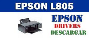 Descarga gratuita del controlador de impresora escáner Epson L805