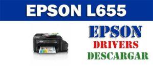 Descargar driver / controlador de impresora / escáner Epson L655