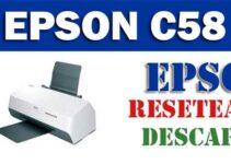 Descargar programa para resetear Epson C58