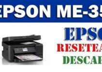 Descargar programa para resetear Epson ME-35