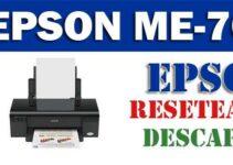 Descargar programa para resetear Epson ME Office 70
