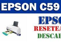 Descargar programa para resetear impresora Epson C59