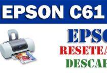 Descargar programa para resetear impresora Epson C61