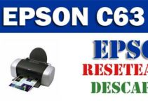 Descargar programa para resetear impresora Epson C63