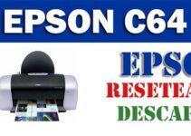 Descargar programa para resetear impresora Epson C64