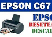 Descargar programa para resetear impresora Epson C67