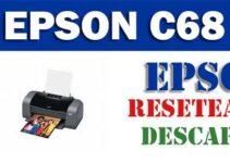 Descargar programa para resetear impresora Epson C68