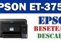 Descargar programa para resetear impresora Epson ET-3750
