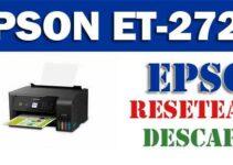 Descargar programa para resetear impresora Epson EcoTank ET-2720