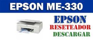 Descargar programa para resetear impresora Epson ME-330