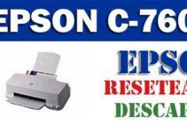 Programa de reseteo de la Epson Stylus Color 760