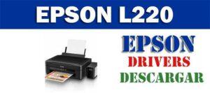 Driver / controlador de impresora / escáner Epson EcoTank L220
