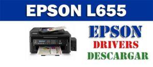 Descargar driver / controlador de impresora / escáner Epson L555