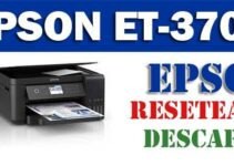 Programa de reseteo Epson EcoTank ET-3700