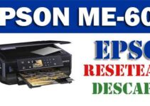 Programa de reseteo de Epson ME Office 600