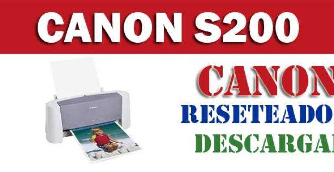 Resetear impresora Canon Bubble Jet S200