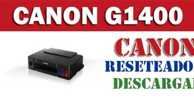 Resetear impresora Canon Pixma G1400