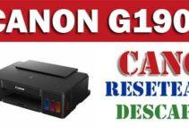Resetear impresora Canon Pixma G1900