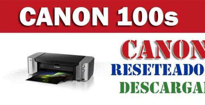 Resetear impresora Canon Pixma Pro-100s