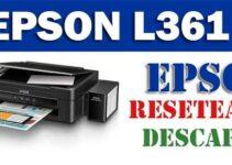 Cómo resetear impresora Epson L361