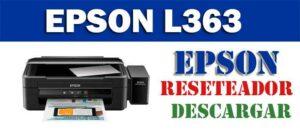 Cómo resetear impresora Epson L363