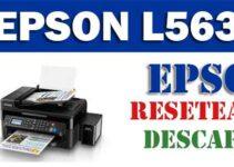 Cómo resetear impresora Epson L563