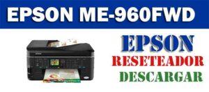 Programa de reseteo Epson ME Office 960FWD