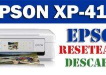 Cómo resetear impresora Epson XP-415