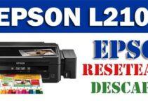 Descargar programa para resetear impresora Epson L210