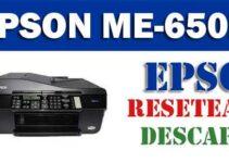 Programa de reseteo Epson ME Office 650FN