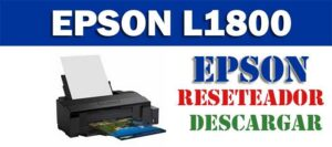 Descargar programa para resetear Epson L1800