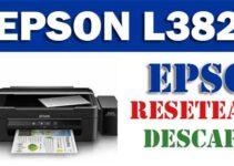 Descargar programa para resetear Epson L382