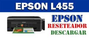 Descargar programa para resetear Epson L455