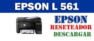 Programa de reinicio de la Epson L561