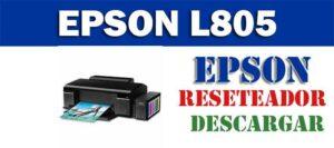 Descargar programa para resetear Epson L805