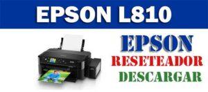 Descargar programa para resetear Epson L810
