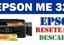 Descargar programa para resetear Epson ME-32