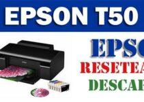 Descargar programa para resetear Epson T50
