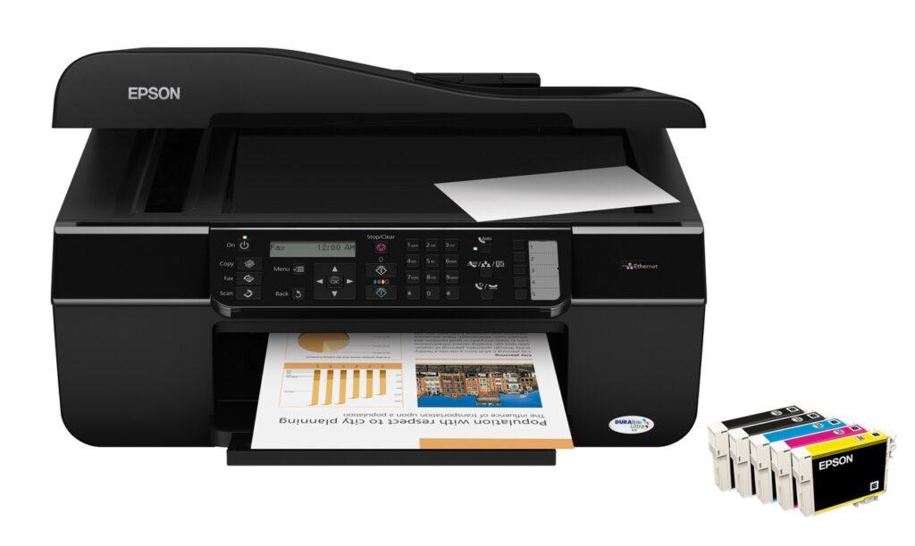 Programa de reinicio de la Epson Stylus Office BX310FN