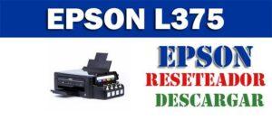 Descargar programa para resetear impresora Epson L375