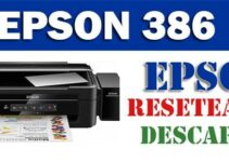 Descargar programa para resetear impresora Epson L386