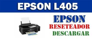 Descargar programa para resetear impresora Epson L405