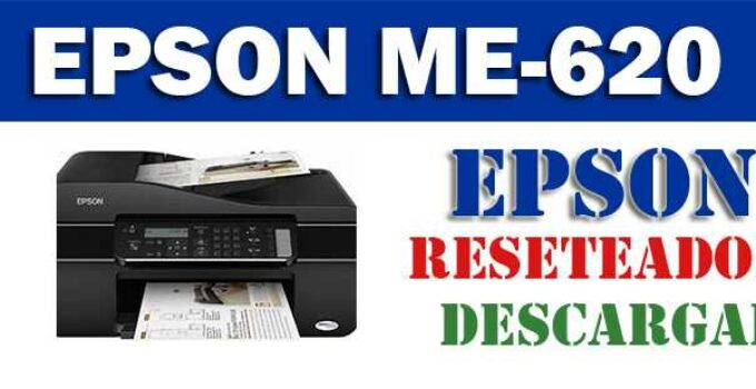 Descargar programa para resetear impresora Epson ME Office 620