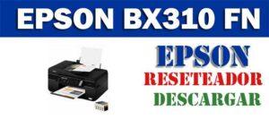 Descargar programa para resetear impresora Epson Stylus Office BX310 FN Resetter