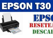 Descargar programa para resetear impresora Epson Stylus Office T30