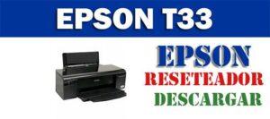 Descargar programa para resetear impresora Epson Stylus Office T33